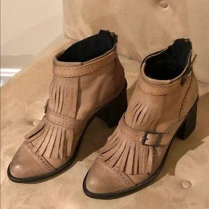 Free People Booties Size 38
